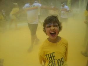 sophia color run